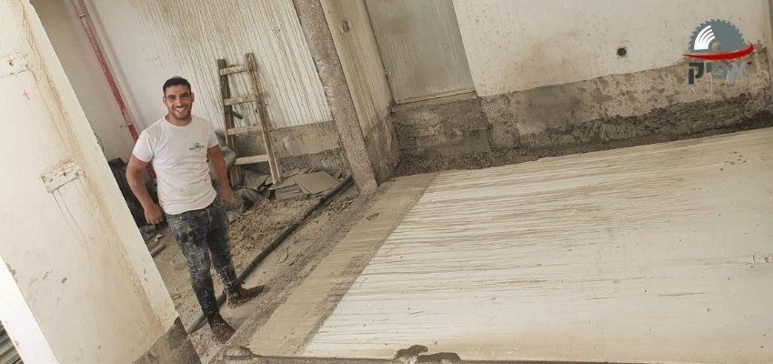 חיתוך קירות בטון